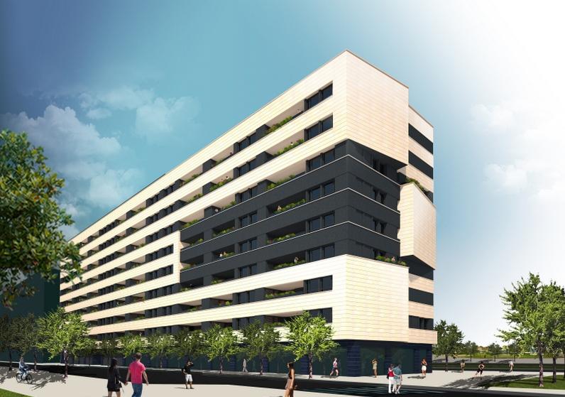 Edificio miguel delibes ii coblansa construcci n y for Promocion inmobiliaria